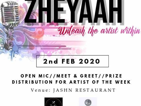 BIT Arts Club's first event ZHEYAAH all set to begin