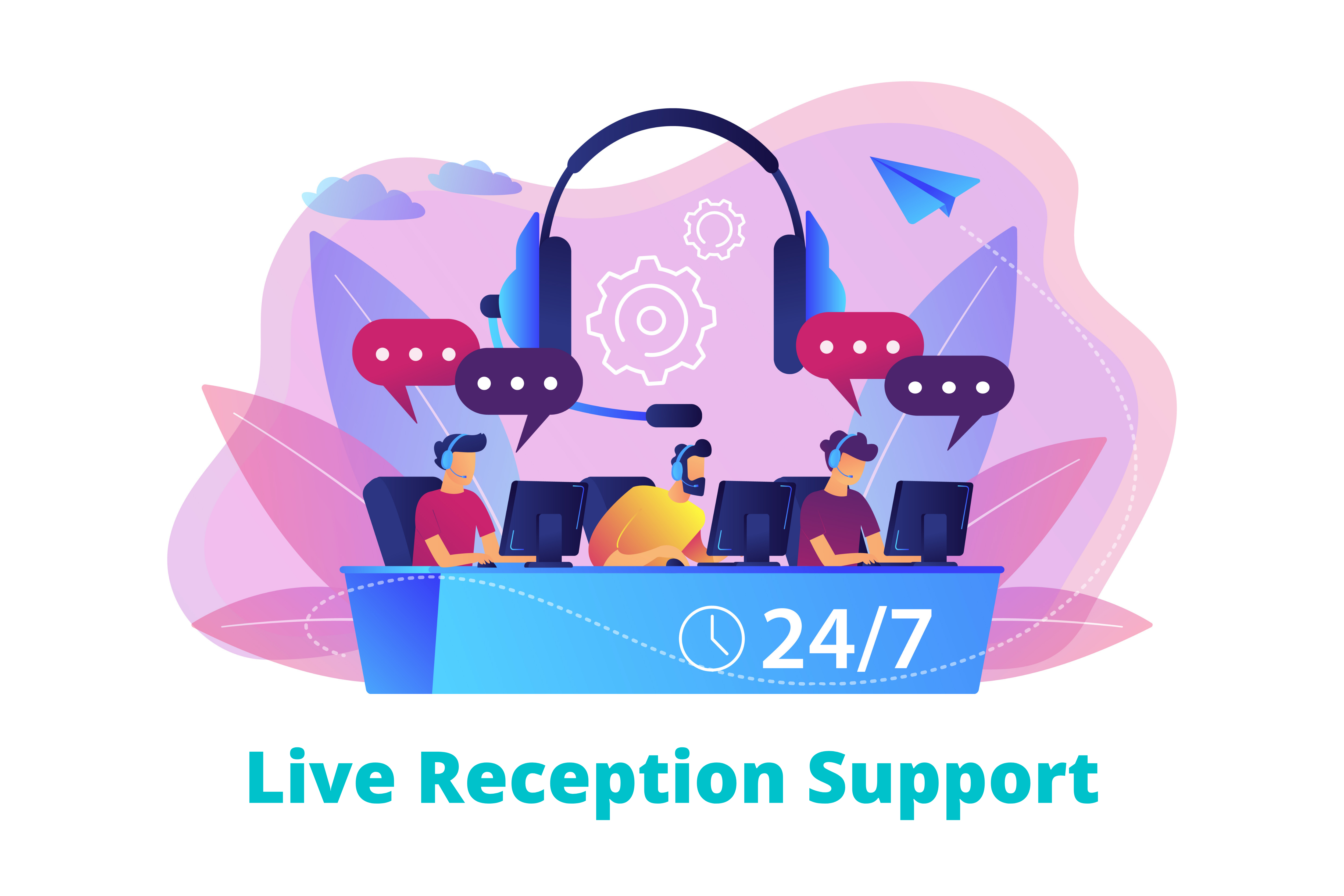 Live Reception Support