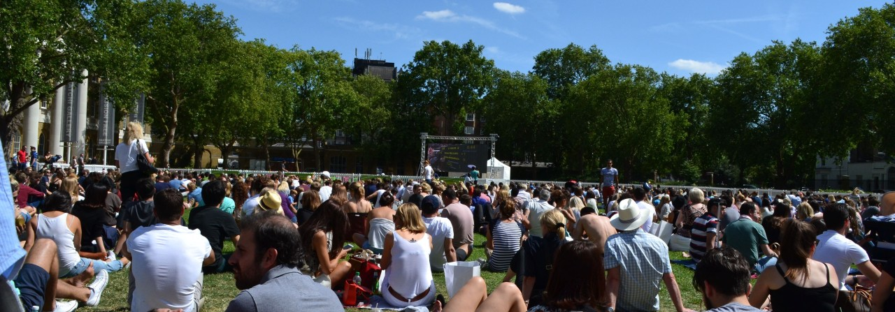Activ8 delivers Wimbledon screening for Duke of York Square