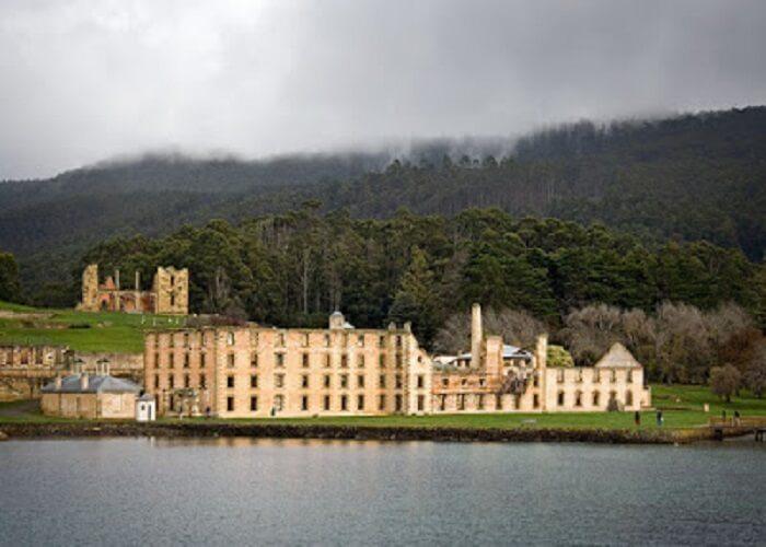 The Port Arthur Historical Site in Tasmania, Australia