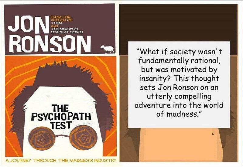 The Psychopath Test by John Ronson