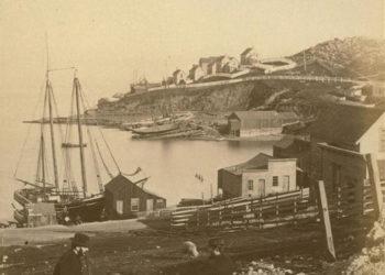 Irish Hill in San Francisco, 1862