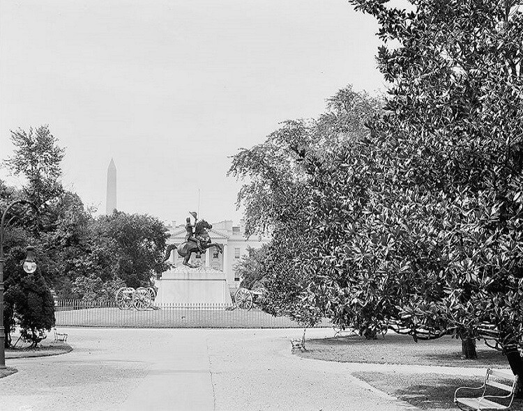 Jackson Memorial in Lafayette Park