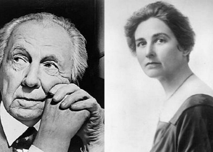 Frank Lloyd Wright and Mamah Borthwick Cheney