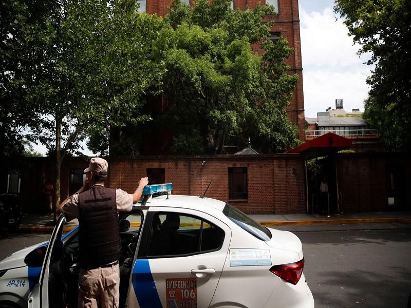 The hotel in Buenos Aires where British millionaire Matthew Gibbard was murdered in December 2019.