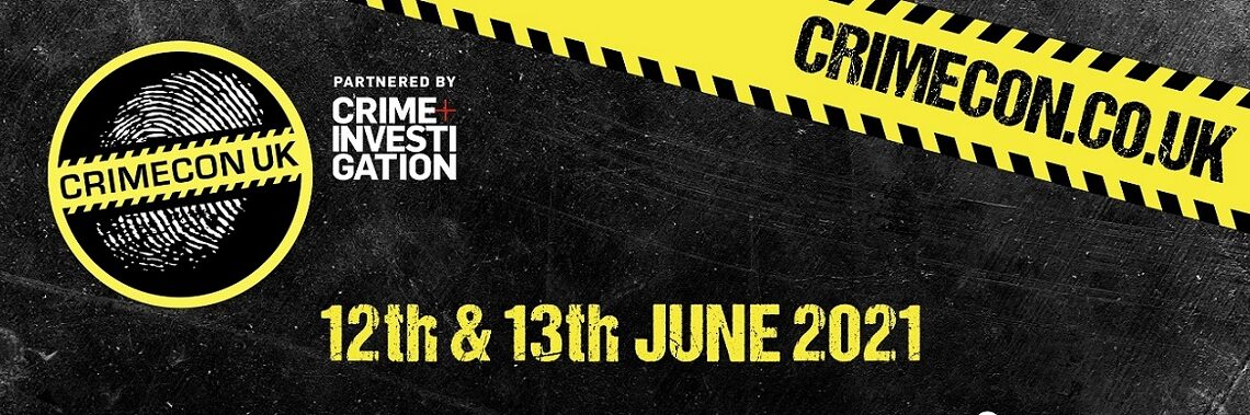CrimeCon is coming to the UK - June 2021