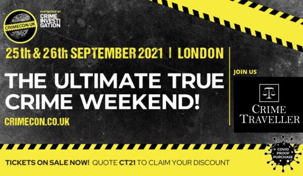 CrimeCon UK September 2021, London