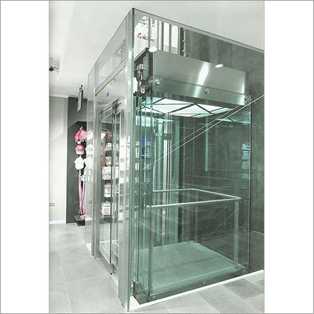 Glass-Hydraulic-Elevator-