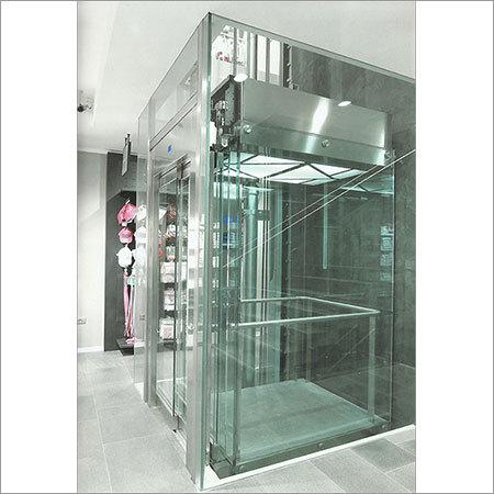 Glass-Hydraulic-Elevator-