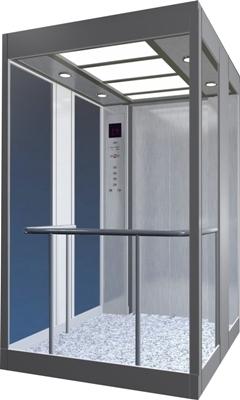 Glass Elevator Cabins