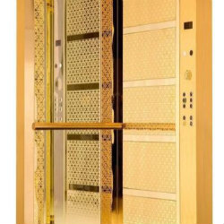 Gold Coated Elevator Cabins