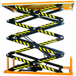 High Lifting Hydraulic Scissor Loading Lift Table