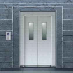SS Auto Elevator Doors