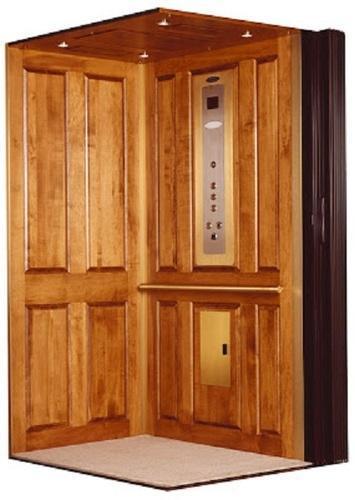 Wooden Elevator Cabins