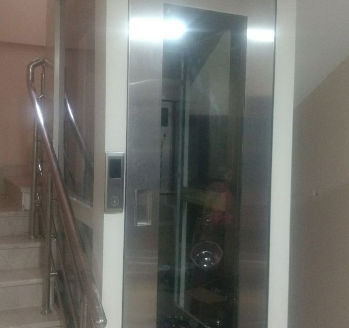Beautiful Hydraulic Lift Installed in Kondapur