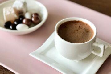 Plenty of Sparkling Turkish Coffee