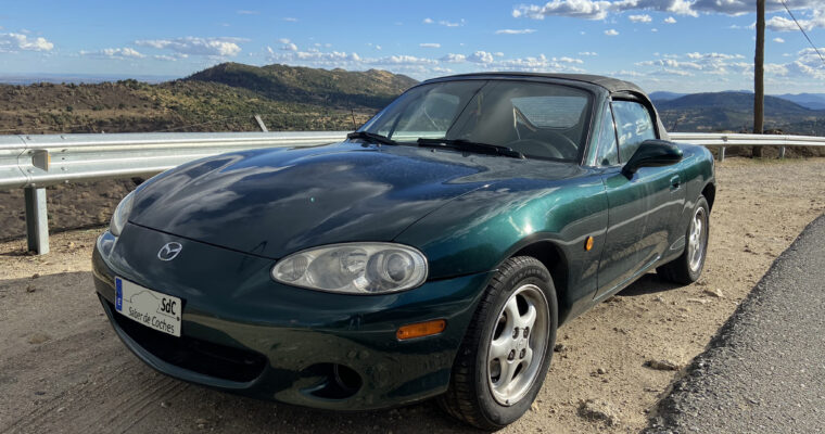 PRUEBA: Mazda MX-5 NB 1.6 (2001)