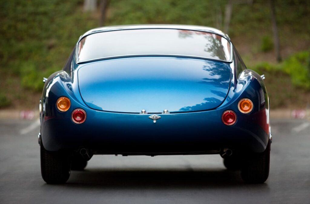 1959 Scaglietti Corvette Nº2, con una trasera muy tipo Hot Rod americano