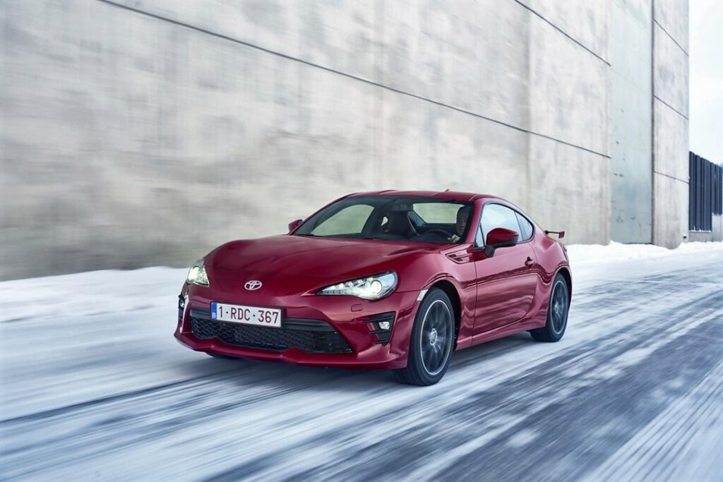 12 Toyota GT86 Restyling 2017