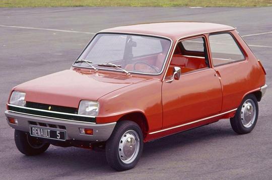 Renault 5 de calle