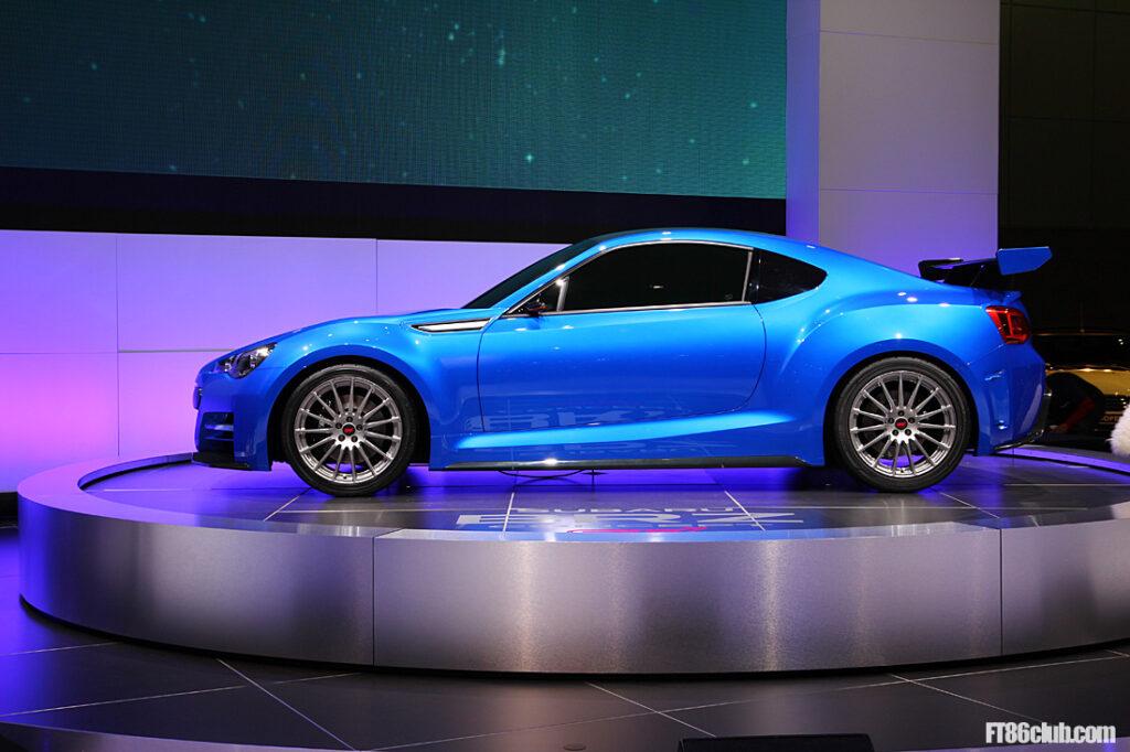 Subaru BRZ STI Concept 2011 Los Angeles Salon Motorshow_0