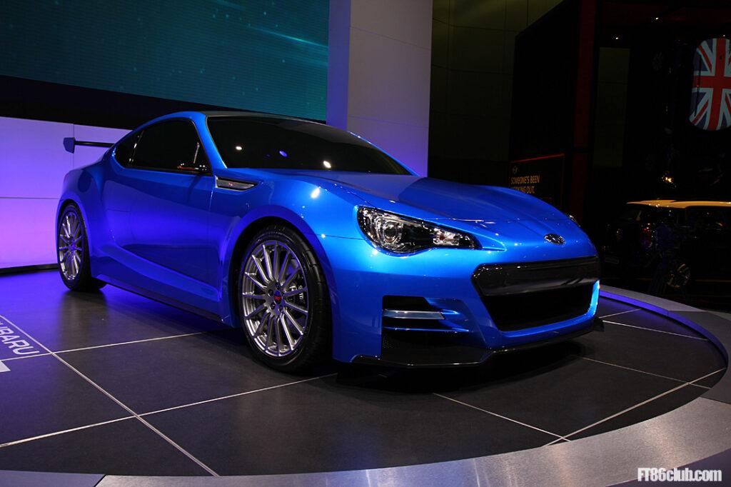 Subaru BRZ STI Concept 2011 Los Angeles Salon Motorshow_5