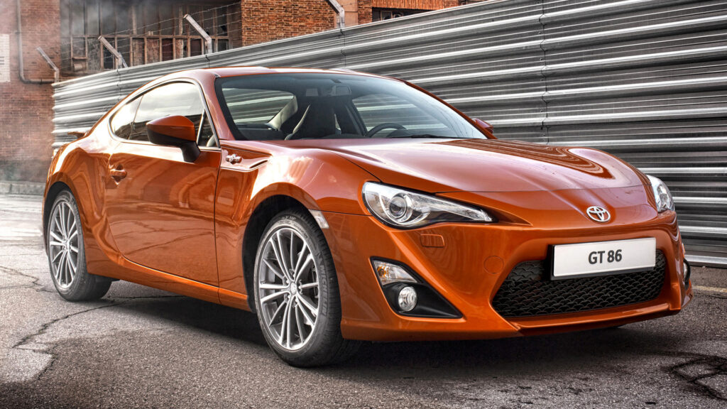 Toyota GT86 2012 front