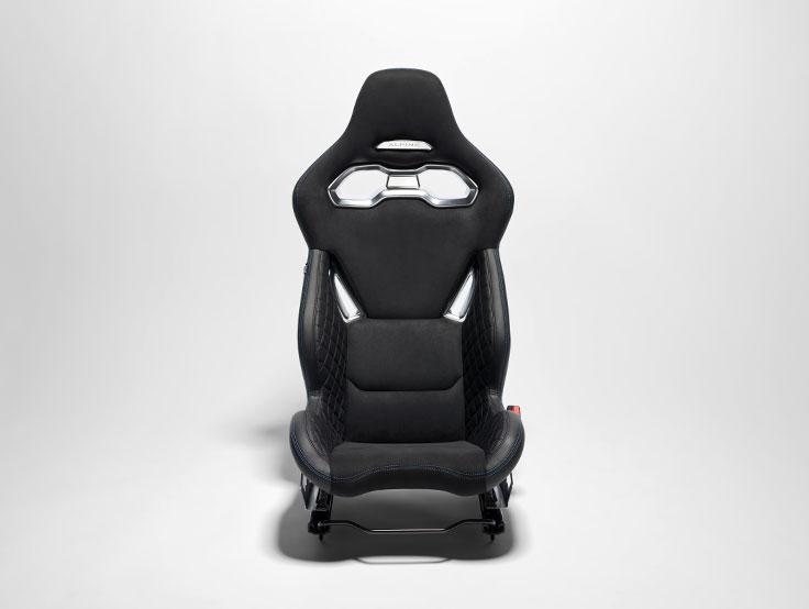 Alpine A110 Sabelt Seats ligthweight