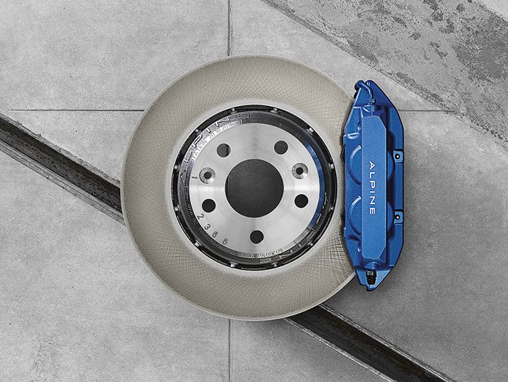 Front disk brakes Alpine A110