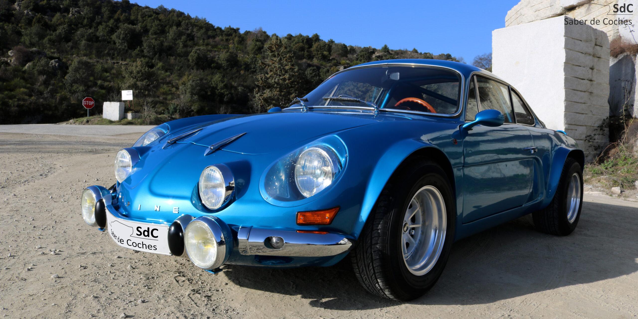 PRUEBA: Alpine A110 1300 FASA-Renault (1972)
