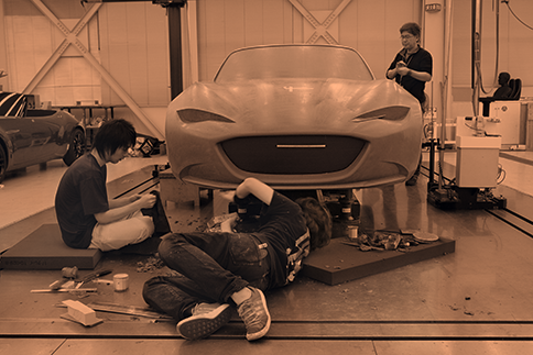Clay Model Front MX-5