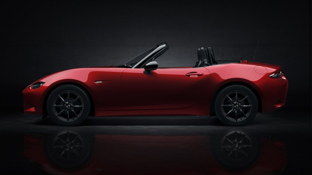 Side View MX-5 Open