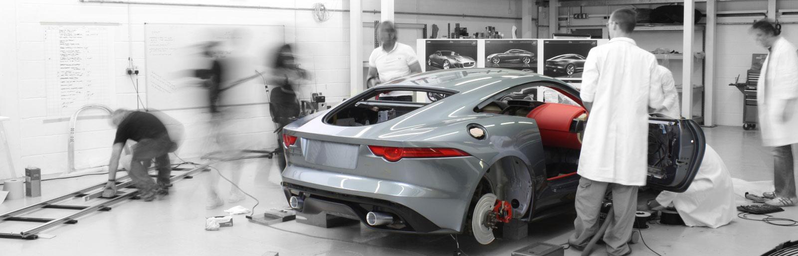 Jaguar C-X16 Concept Design Process