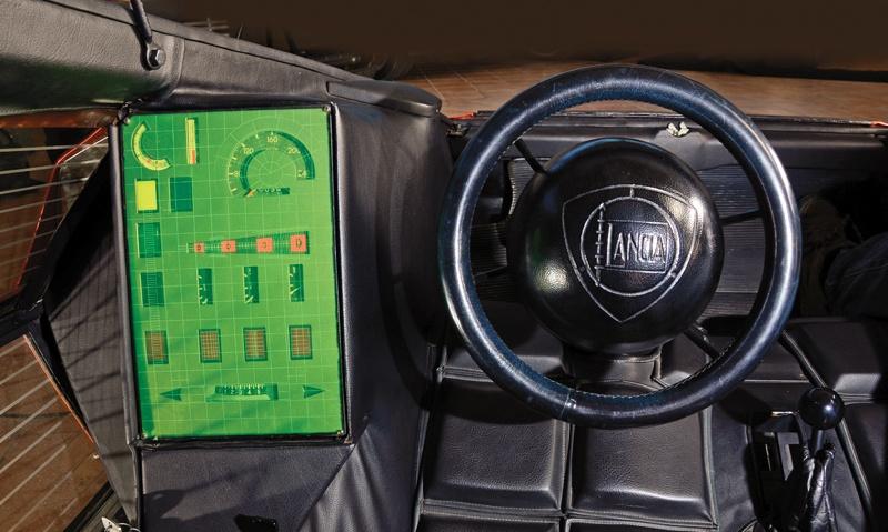 Lancia Stratos ZERO_Interior