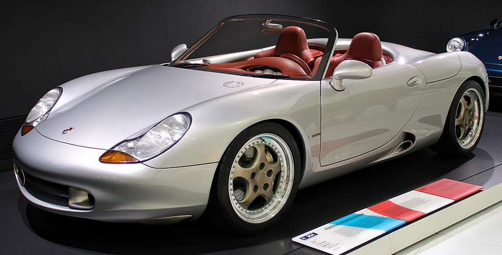 Boxster Concept Front