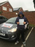 udrive plus driving school coventry- passed driving test.