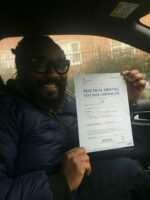 udrive plus driving school coventry - passed driving test picture.
