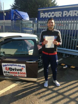 learn to drive with driving lessons in warwick alongside udrive plus driving school