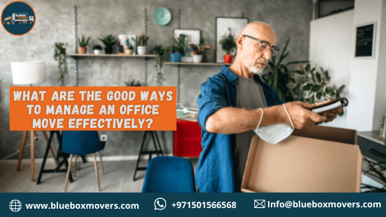 Effective management of office move