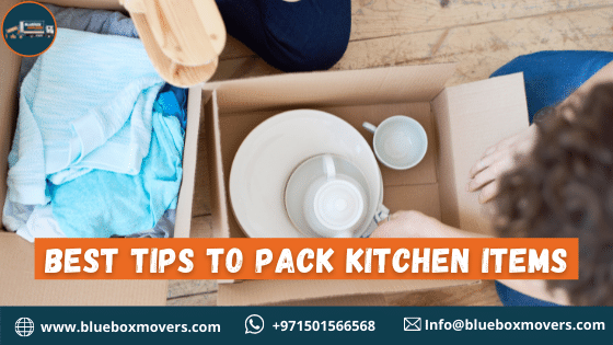 Tips to pack kitchen items