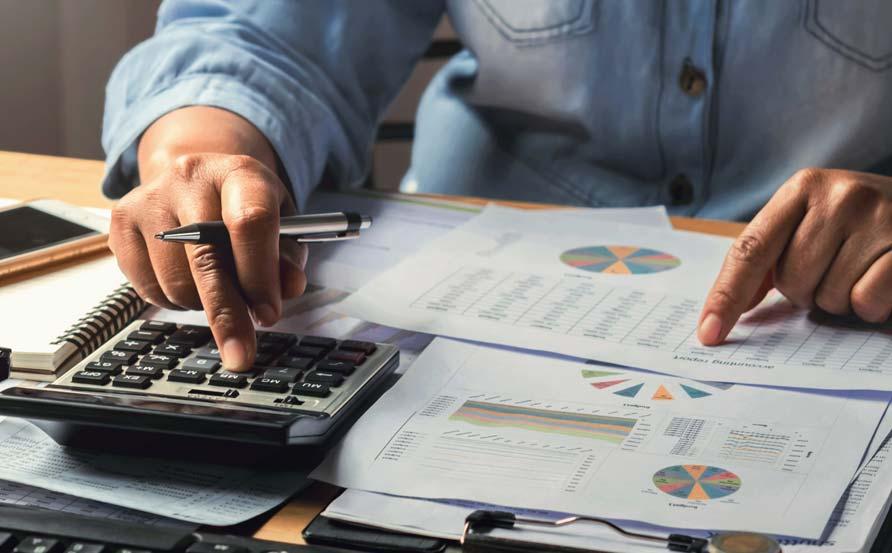 Business man analysing indirect procurement strategy