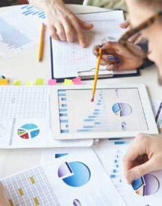 analysing and leveraging your data to gain a competitive edge