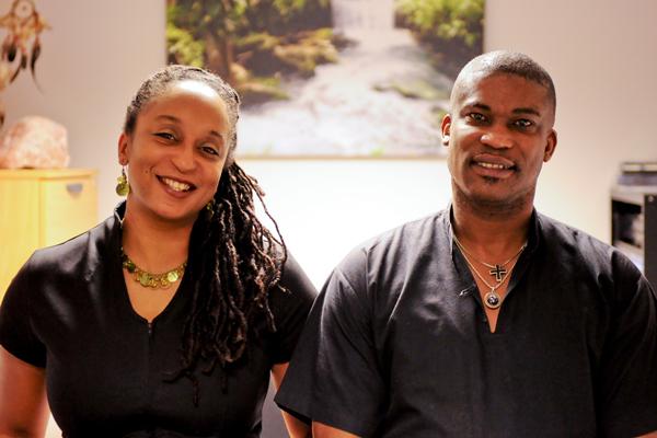Karen and Devon