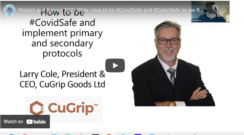 Watch Now: Protect and Survive 2021 Style – How to be #CovidSafe and #CyberSafe as we Return to the Office