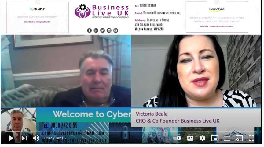 Watch Now: Chris Windley on Business Live Global