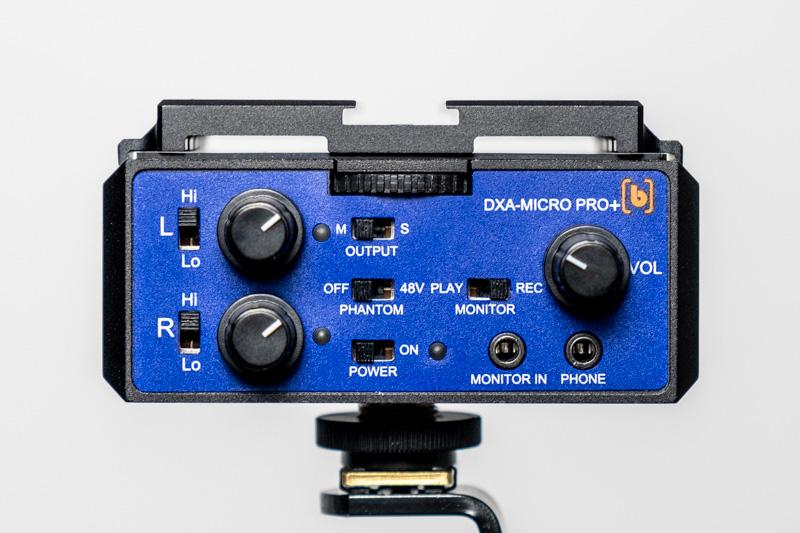 Beachtek DXA Micro Pro+ front panel