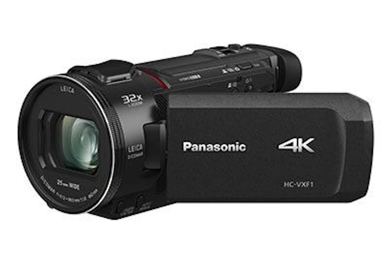 A good consumer grade camcorder suitable for filming a school marketing video