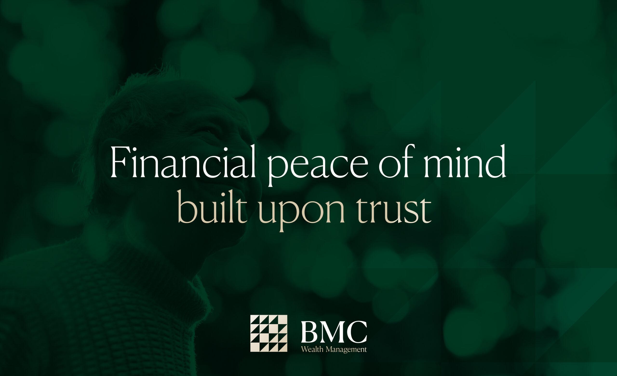 BMC Wealth Management brand hero image with strapline
