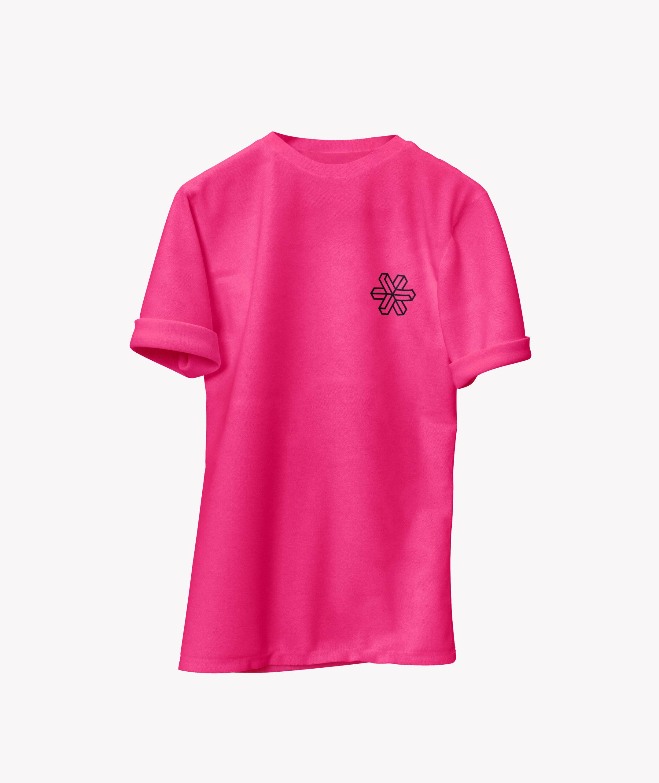 Edgeware t-shirt design in pink