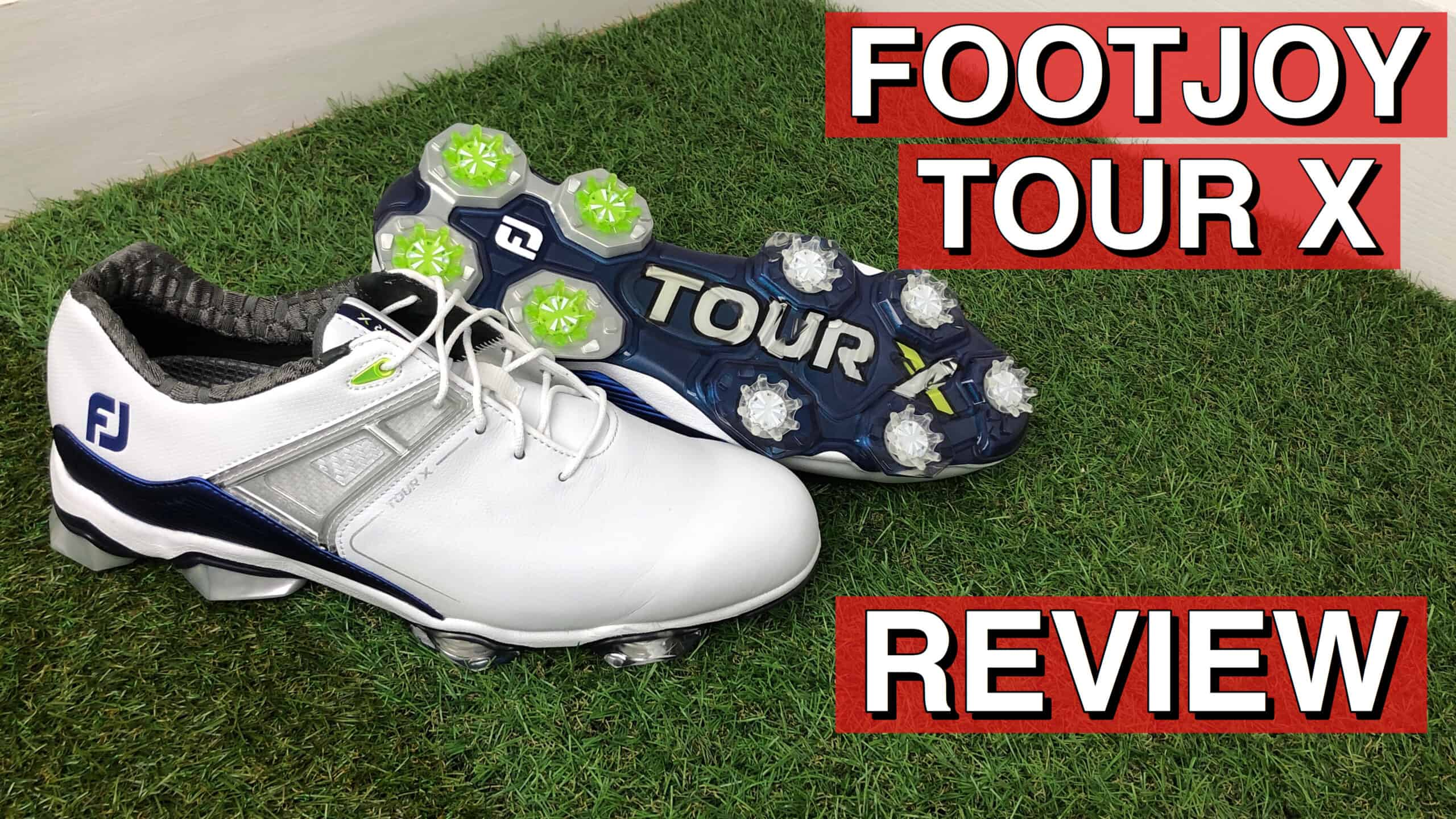 Footjoy Tour X Golf Shoes Review